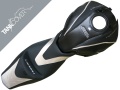 HONDA CB  600 HORNET 'Série spéciale', 2007 - 2010 black, ligt grey & flanelle grey metallic (A)