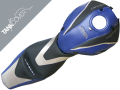 HONDA CB  600 HORNET 'Série spéciale', 2007 - 2010 black, baltic blue, light grey & light grey metallic (D)