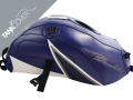 GSF  600 / 1200 BANDIT , 2000 - 2005 [GSF 600 BANDIT to 2004, GSF 1200 BANDIT from 2001] 2004 baltic blue & white, dark blue triangle (K)