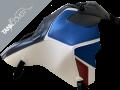CRF 1100 L AFRICA TWIN ADVENTURE SPORTS , 2020 2020 navy blue, white & grainy matt black, gitane blue & dark red for PEARL GLARE WHITE [TRICOLOR] (A)