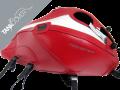 MONSTER 797 / 797+ / 821 / 821 DARK & STRIPE / 1200 / 1200 S / 1200 R , 2014 - 2020 2014 - 2016 red, deco white [821 STRIPE] (D)