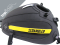 SCRAMBLER 800 , 2015 - 2020 2015 - 2017 black matt, deco butter cup/black [FULL THROTTLE] (C)