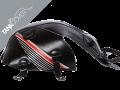 CB  125 F , 2015 - 2020 2015 - 2020 black, stripes light grey/red for ONYX BLUE METALLIC (B)