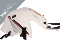 CB  125 F , 2015 - 2020 2015 - 2020 white, stripes black/red/light grey for PEARL SUNBEAM WHITE (C)