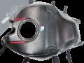 MONSTER 797 / 797+ / 821 / 821 DARK & STRIPE / 1200 / 1200 S / 1200 R , 2014 - 2020 2016 black, steel grey & red deco for THRILLING BLACK [1200 R] (F)