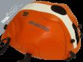 MONSTER 600 / 620 i.e. / 695 / 750 / 900 / 1000-S4 / S2R / S4R , 2000 - 2008 2004 / 2005 orange, white stripe [stripe right] (J)