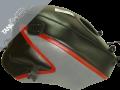 GPZ  500 S/ 500 EX , 1991 - 2003 1992 - 1999 black, steel grey & red (1222B)