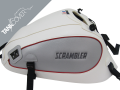 SCRAMBLER 800 , 2015 - 2020 2017 - 2020 white, silver sides with red edging for DESERT SLED (G)