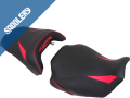 HONDA CB  650 R / CBR 650 R 'Série spéciale' , 2019 / 2020 black matt/'Racing' black/carbon black, deco 'Miami' red & black, font 'Miami' red (B)