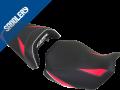 HONDA CB  650 R / CBR 650 R 'Série spéciale' , 2019 / 2020 black matt/'Racing' black/carbon black, deco 'Miami' red, font & piping white (C)