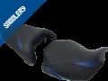 HONDA CB  650 R / CBR 650 R 'Série spéciale' , 2019 / 2020 black matt/'Racing' black/carbon black, fonts & deco baltic blue (D)